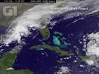 Tempestade tropical Kate começa a se afastar das Bahamas