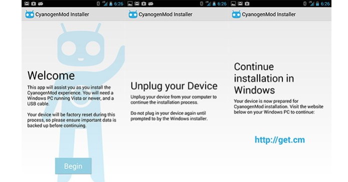 Instalador do CyanogenMod Android é retirado do Google Play (Foto: Reprodução/Engadged)