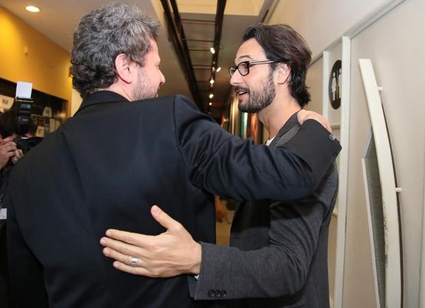 Selton Mello e Rodrigo Santoro (Foto: AgNews)