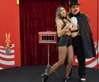 Thati Lopes e Luis Lobianco em cena de 'O grande Gonzalez'  | Divulgação