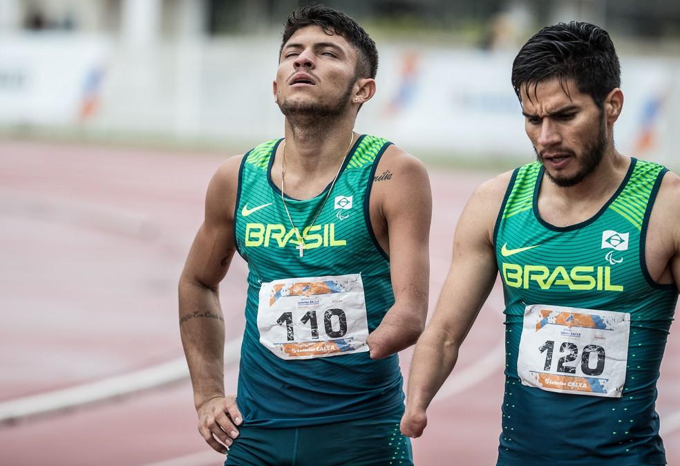 Petrucio Ferreira e Yohansson Nascimento:  concorrentes, mas não rivais (Foto: Daniel Zappe/MPIX/CPB)
