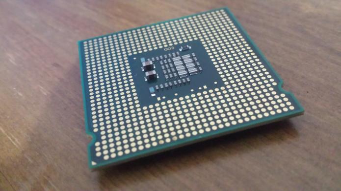 O Core2 Duo apareceu em 2006 e trouxe o design multicore para a Intel (Foto: Filipe Garrett/TechTudo)
