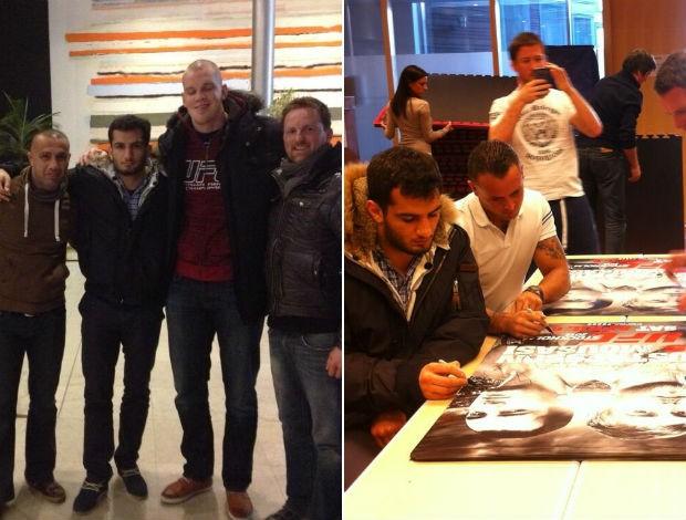 Gegard Mousasi UFC Suécia (Foto: Reprodução/Twitter)