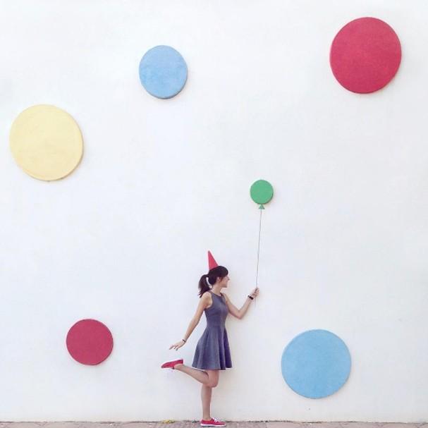 Daniel Rueda e Anna Devis mostram cliques pelo mundo (Foto: Instagram/Reprodução)