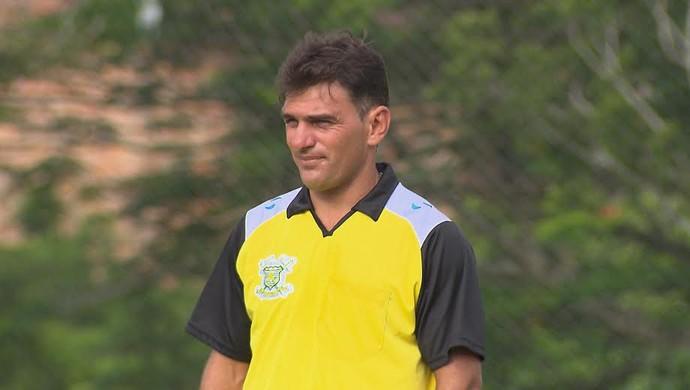 Mazinho, técnico do Sport Campina (Foto: Reprodução / TV Paraíba)