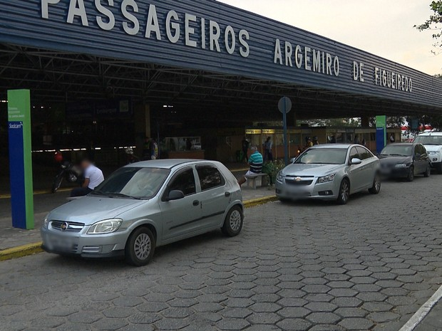 Terminal Rodoviário Argemiro de Figueiredo de Campina Grande (Foto: Reprodução/TV Paraíba)