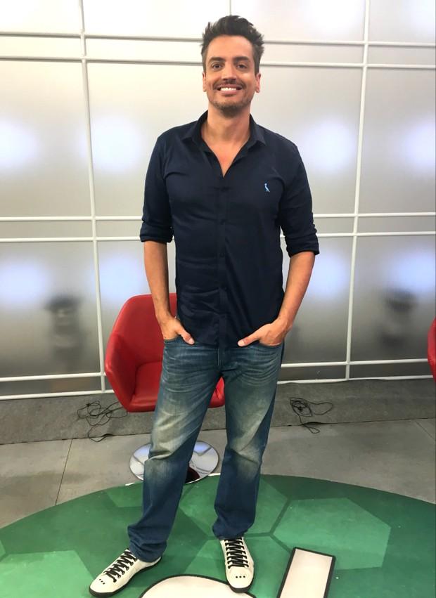 Leo Dias no 2 Minutos (Foto: EGO)