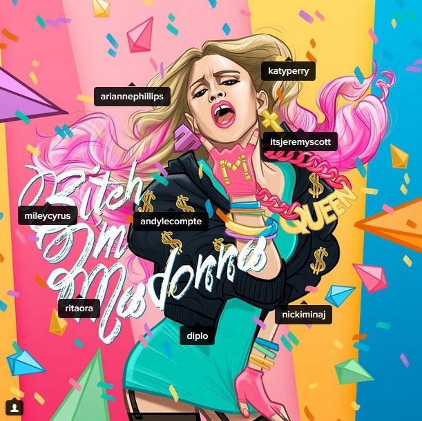 Madonna (Foto: Instagram / Reprodução)