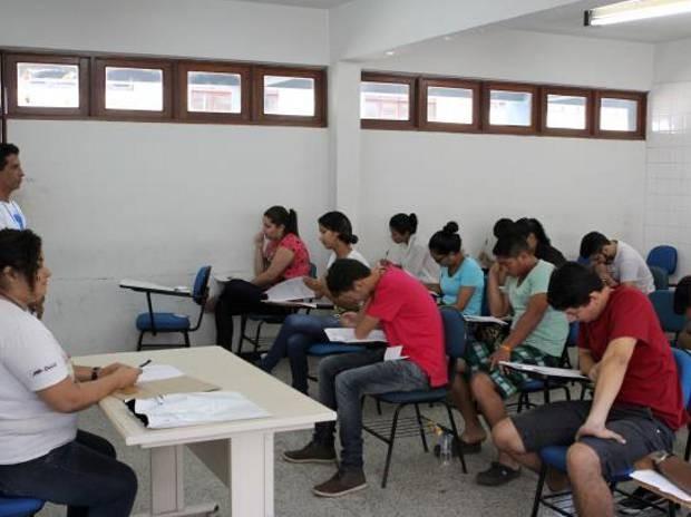 Mais de oito mil candidatos não fizeram as provas da primeira etapa dos processos seletivos da Universidade do Estado do Pará (Uepa) no último domingo (16). (Foto: Divulgação/UEPA)