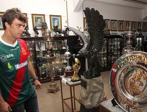 Michel Alves goleiro apresentado no Vasco (Foto: Marcelo Sadio / Site do Vasco)