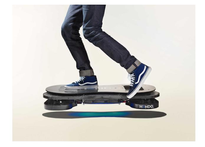 Hoverboard lançado no Kickstarter em 2014  (Foto: Divulgação/ Lexus)