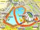 Carnatal divulga mapa oficial do circuito; área de folia tem 40.000 m²