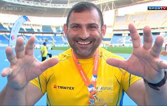 Sobrevivente de guerra, atleta troca esporte e país por Paralimpíada no Rio