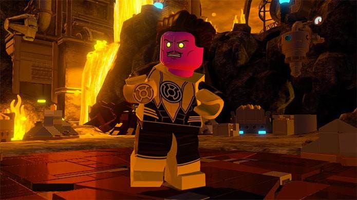 Lego Batman 3 Beyond Gotham tem heróis e vilões da DC (Foto: Divulgação)