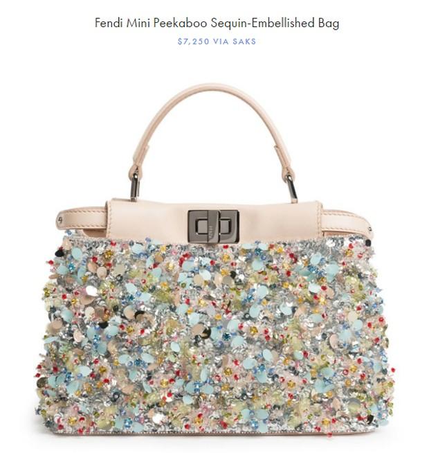 Bolsa da Fendi usada por North West foi vendida a mais de 22 mil reais na pré-venda, em 2016 (Foto: Reprodução)