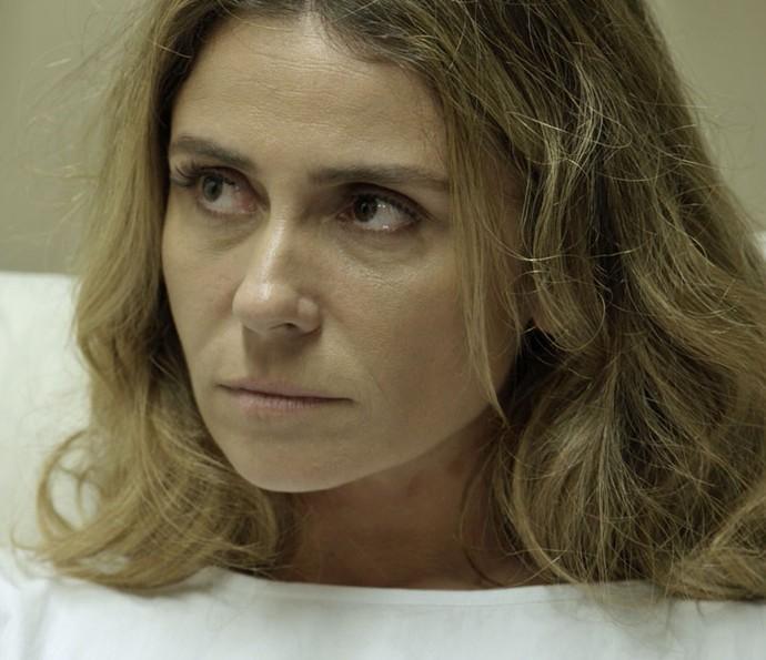 Atena é questionada sobre o Pai da facção (Foto: TV Globo)