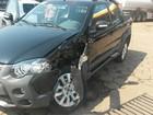 Carro com um dia de uso é atingido por veículo em Vilhena, RO