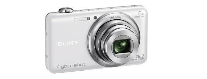 Modelo WX80 segue a linha básica da Sony (Foto: Divulgação/Sony)
