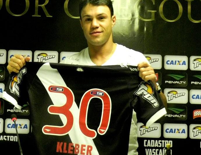 Kleber Gladiador vasco apresentação (Foto: Raphael Bózeo)
