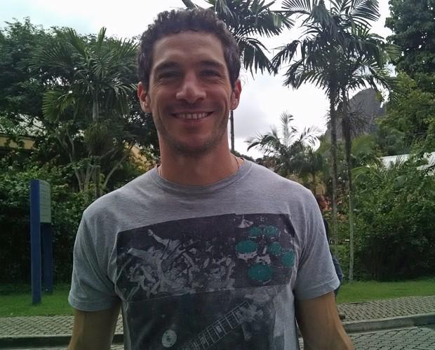 Michel Noher conta que tenta trazer elementos argentinos para o dia a dia no Brasil (Foto: Carolina Berger/Gshow)