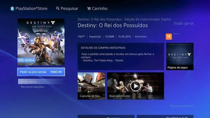 Expansão de Destiny custa mais barato do que o esperado no Brasil (Foto: Reprodução/Thiago Barros)