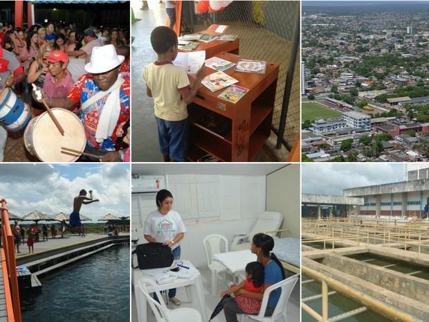 Especialistas elencam o que comemorar e desejos para Macapá (Foto: Abinoan Santiago/G1; Fabiana Figueiredo/G1; Jorge Abreu/G1; John Pacheco/G1)
