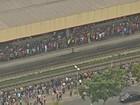 Falha em trem interrompe circulação da Linha 11 - Coral da CPTM
