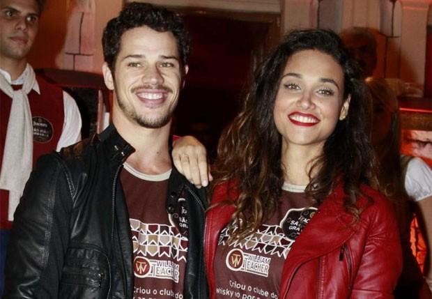 José Loreto e Débora Nascimento durante uma festa realizada em junho (Foto: Felipe Panfili/AgNews)