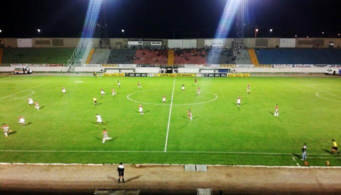 Boa Esporte joga com o Moto Club no Estádio do Melão, em Varginha (MG) (Foto: Marcelo de Castro / EPTV)