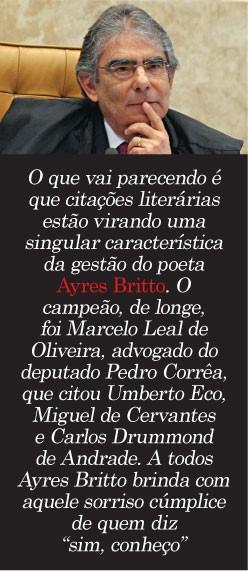 Ayres Britto (Foto: Andre Dusek/AE)