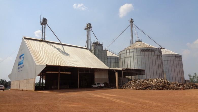 infraestrutura-silo-fazenda-rondonia (Foto: Raphael Salomão/Ed. Globo)