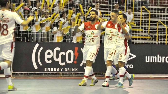Sorocaba x São Caetano, Liga Paulista de Futsal, LPF (Foto: Danilo Camargo / Futsal Brasil Kirin)