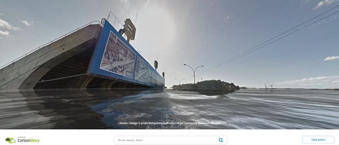 Sambódromo Inundado (Foto: Reprodução/Edivaldo Brito)
