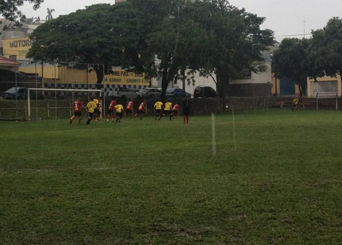 Vasco (amarelo) garante vaga à semifinal com  gol no primeiro tempo (Foto: Kawanny Barros / GloboEsporte.com)