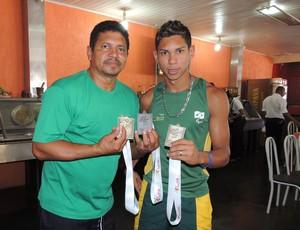 Mateus Evangelista é convocado pela Seleção Brasileira Paralímpica  (Foto: Silvio Corsino/Arquivo Pessoal)