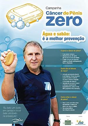 Zico estrela campanha (Foto: Udo Kurt/Lado a Lado/Sociedade Brasileira de Urologia)