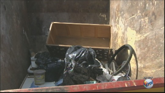 Caçambas para descarte de entulho são colocadas em 6 bairros de Ibaté, SP