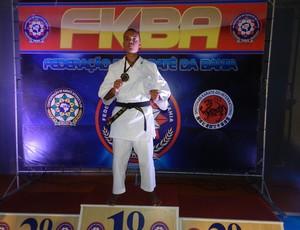 Johnnatha Ramos conquista campeonato em Feira de Santana (Foto: Arquivo Pessoal/Divulgação)