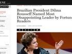 Em enquete 'bombada' por movimentos pró-impeachment, Dilma é eleita 'líder mais decepcionante do mundo'