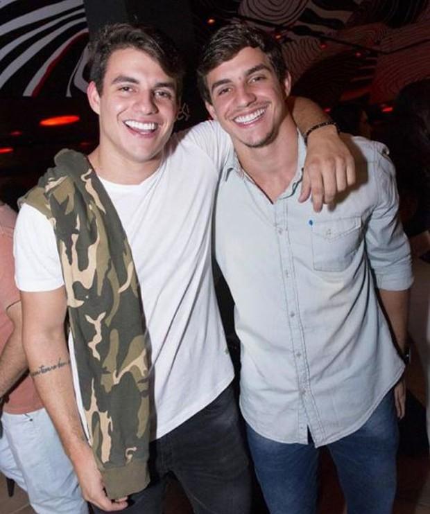 Antônio e Manoel Rafaski (Foto: Reprodução/Instagram)