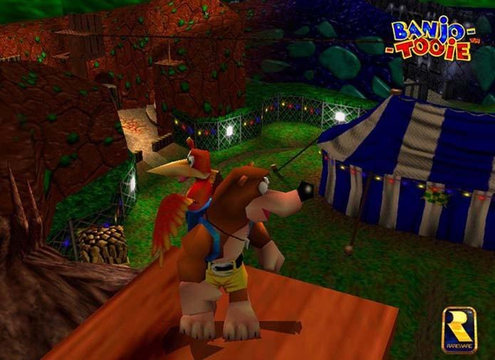 Banjo-Tooie era bonito, colorido e divertido (Foto: Reprodução)