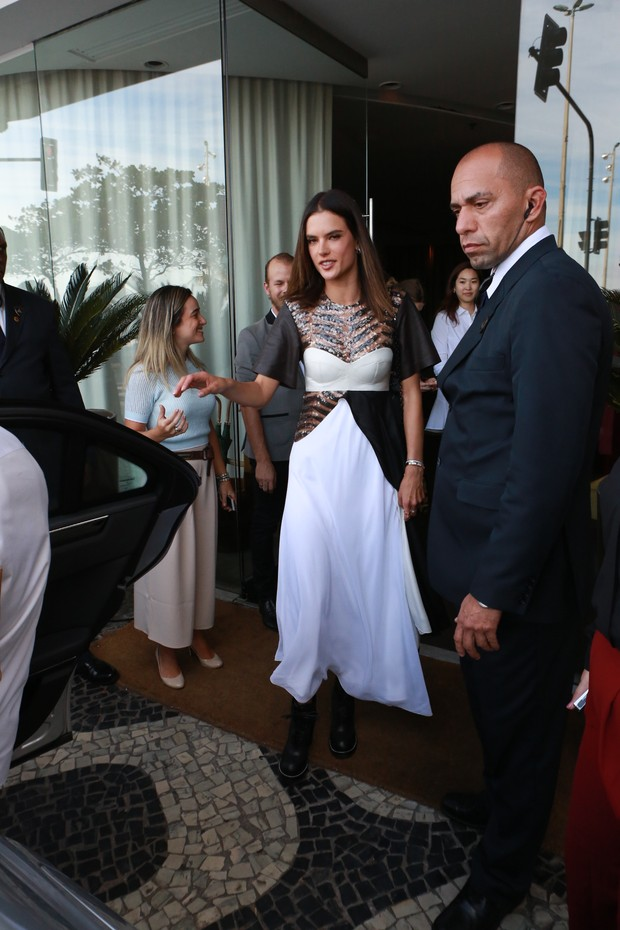 Alessandra Ambrósio (Foto: Dilson Silva/ AgNews)