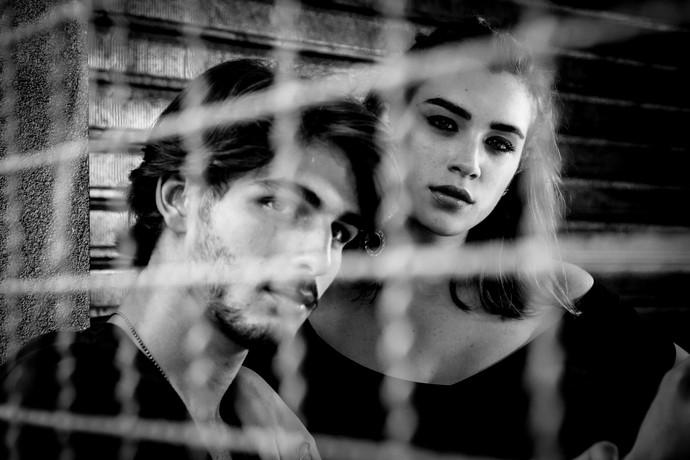 Brenno faz elogios ao ator Gabriel Leone  (Foto: Fabiano Battaglin/Gshow)