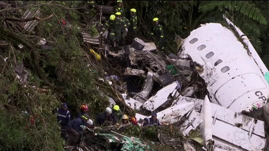 Avião da Chapecoense também tinha excesso de carga, revela relatório