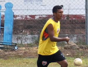 Meia do Maranhão, Jadinho, acertou com Cordino (Foto: Bruno Alves/Globoesporte.com)
