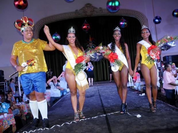 Rei Momo, Rainha e princesas do carnaval 2014 são eleitos em Piracicaba (Foto: Adilson Franco Cardoso/Prefeitura de Piracicaba)