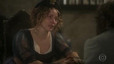 Leopoldina afirma a Joaquim que tentará ajudar Anna
