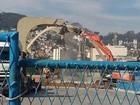 Torre de TV do Sambódromo do Rio  é demolida