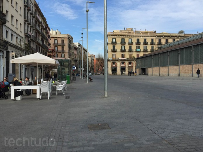 Foto tirada em iluminação ideal com o iPhone 6 Plus (Foto: Isadora Díaz/TechTudo)