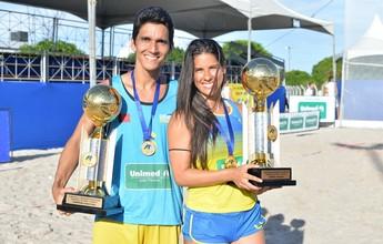Unipê vence Brasileiro de Handebol de Areia no masculino e no feminino